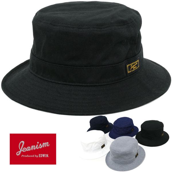 JEANISM EDWIN 帽子 メンズ 夏 綿 ポリエステル レーヨン ホワイト/グレー/ブラック/ブルー/ネイビー
