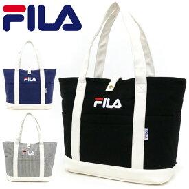 フィラ バッグ メンズ 夏 綿 合成皮革 ブラック/ネイビー/ストライプ