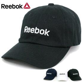 リーボック 帽子 メンズ 夏 綿100% ホワイト/ブラック/ネイビー
