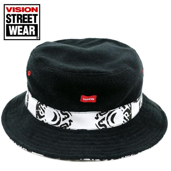 【VISION STREET WEAR】【帽子】ハット 帽子 メンズ レディース ハット 帽子 リバーシブル ロゴネーム ハット HAT 帽子 カジュアル 男女兼用 ハット 帽子 人気 reversible ヴィジョンストリートウェアー【新作】