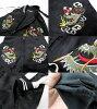 -紀念夾克男式日本繡緞襖
