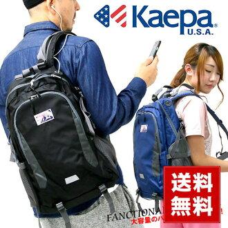 Kaepa帆布背包人分歧D帆布背包戶外運動大容量通勤上學玩笑喜愛的旅遊高中生包山女孩子書包2016SS