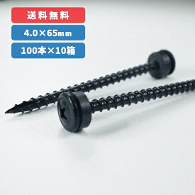浅野化学興業 サトウビス パッキン付き4.0×65mm 【100本入】 黒・ブロンズ:2種選択可ステンレス(SUSXM7)製