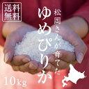 【北海道の米屋しか手に入らない】 松岡さんが育てた「ゆめぴりか」 10kg(5kg×2袋) 29年産 北海道らんこし産 <玄米…