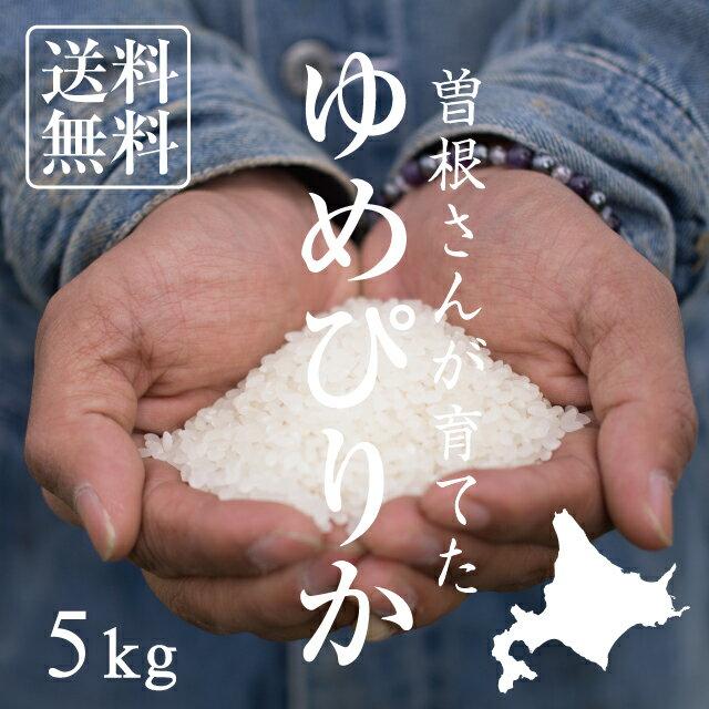 【北海道の米屋しか手に入らない】曽根さんが育てた「ゆめぴりか」 5kg 29年産 北海道もせうし産 <玄米・白米・分づき米>【送料無料】※沖縄・離島は除く