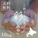 【北海道の米屋しか手に入らない】三崎さんが育てた「彩(あや)」10kg(5kg×2袋) 29年産 北海道もせうし産 <玄米・白米・分づき米> 【送料無料】※沖縄・離島を除く