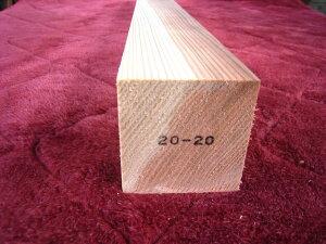 杉角材 節なし  60ミリ×60ミリ×910ミリ上 S2020A