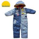 【10%OFF】SALE セール 120cmのみ ジャンプスーツ 雪遊び ムージョンジョン つなぎ 防寒 スノーコンビ スノーウエア …
