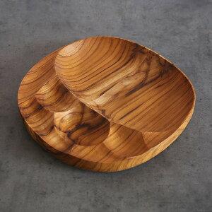 Stone Plate 木製 おしゃれ プレート トレー 無垢 チーク [ お盆 アジアン雑貨 カフェ 器 ナチュラル ]【楽ギフ_包装】【送料無料】