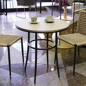 ガーデンテーブル 円形テーブル 丸テーブル 屋外 アウトドア シンプル 2人 カフェ風 テラス バルコニー 軽量 カフェテーブル 庭 ベランダ 屋外 ガーデンファニチャー アルミ 【SENSO センソ デ