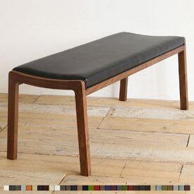 トッポ ダイニングベンチ ウォールナット 無垢 ダイニング ベンチ 木製 椅子 【ポイント10倍】【送料無料】【ブラック(オールマイティ) 幅120在庫3 幅130在庫2 幅140在庫1】※サイズによりお値段が異なります。