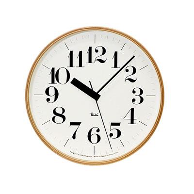 LEMNOS ( レムノス )電波時計 RIKI CLOCK R(リキ クロック)【送料無料】【在庫あり】【あす楽対応】