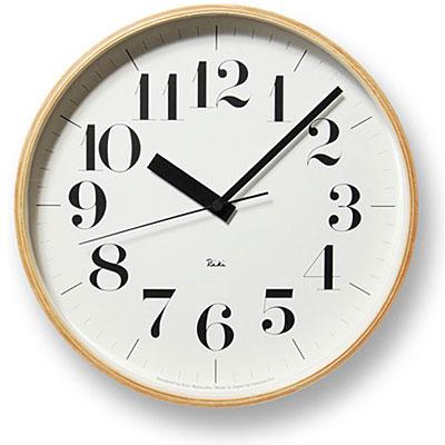 レムノス RIKI CLOCK(リキクロック)電波時計【送料無料】【在庫あり】【あす楽対応】