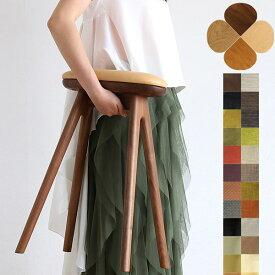 ノーマ ハイスツール 木製 北欧 軽量 [ スツール 完成品 キッチンスツール 椅子 イス チェア おしゃれ かわいい カウンタースツール シンプル 天然木 国産 ]【受注生産】 ※5年間品質保証つき ※材によりお値段が異なります。
