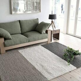 ボーダーラグ 160×230 絨毯 2畳 ラグマット じゅうたん ラグ カーペット 【送料無料】【在庫限り】【在庫あり】【●】