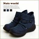 【送料無料】sale セール バーゲン リンネル掲載品 ショートブーツ シャーリングコンビブーツ【オリジナル正規品】 【Nuts world】 レ…
