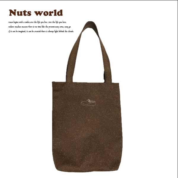 【送料無料】【72001】リサイクルレザートートバッグ(中) Nuts world ナッツワールド 鞄 トートバッグ エコ素材 イタリア製リサイクルレザー レザーボード 日本製 リサイクル レザー ユニセックス メンズ