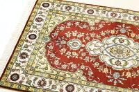 ペルシャ絨毯&ギャベ(ギャッベ)キリムseriesじゅうたん手織り高級玄関マットラグシルク緞通室内用送料無料#006約76×122cm