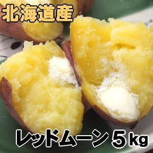 送料無料 越冬じゃがいも レッドムーン 5kg 北海道産 ジャガイモ 産地直送