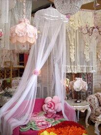 お姫様風のかわいいプリンセスカーテン!スリーピングカーテン(蚊帳/天蓋カーテン)