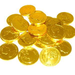 国産コインチョコレート大 業務用1kg