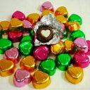 二色ハートチョコレート 業務用1kg