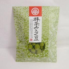 抹茶みるく豆 80g(和風デザイン袋入り)