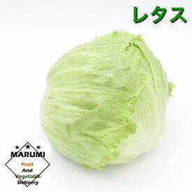 レタス1玉【セット野菜と同時購入で送料無料!!】【茨城】【千葉】【長野】【静岡】