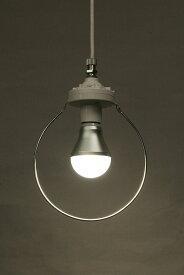 1灯用 両引きペンダント器具 コード50cm 白(白熱灯・電球形蛍光灯・LED電球用)<電球別売>