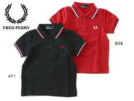 FRED PERRY My First Fred Perry Shirt ■SY1225_4-MG【 ベビー トップス ポロシャツ ポロ 半袖 マイファーストフレッドペリーシャツ フレッドペリー】■6002791【定番】