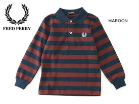 【30%OFF】FRED PERRY KIDS STRIPED PIQUE SHIRT■SY9535-MG【キッズ トップス シャツ ポロシャツ 子供 子ども フレッドペリー 】■4014945【02P03Dec16】【P6FW】 19fn-t【SALEsaleセールバーゲン】