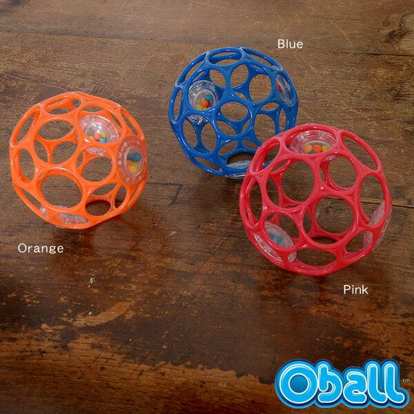 オーボール Oball 3RATTLE/オーボール3ラトル OB10098_10099_10100-MG 7007829 ベビー おもちゃ 0歳 1歳 2歳 Oball