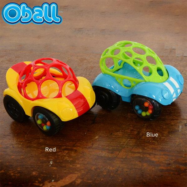 オーボール Oball RATTLE&ROLL/オーボールラトル&ロール OB81558_81559-MG 7007832 ベビー おもちゃ 車 0歳 1歳 2歳 Oball