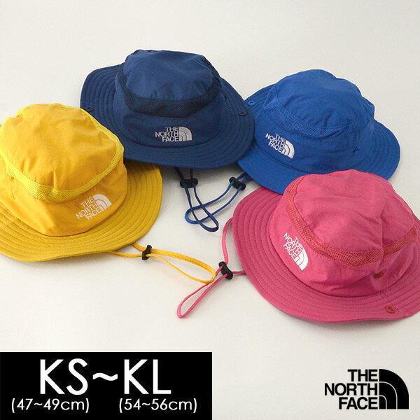 【メール便可】ノースフェイス KIDS SUNSHIELD HAT NNJ01810-MKL キッズ 帽子 サンシールドハット 無地 シンプル ナイロン 男の子 女の子 THE NORTH FACE 7008427