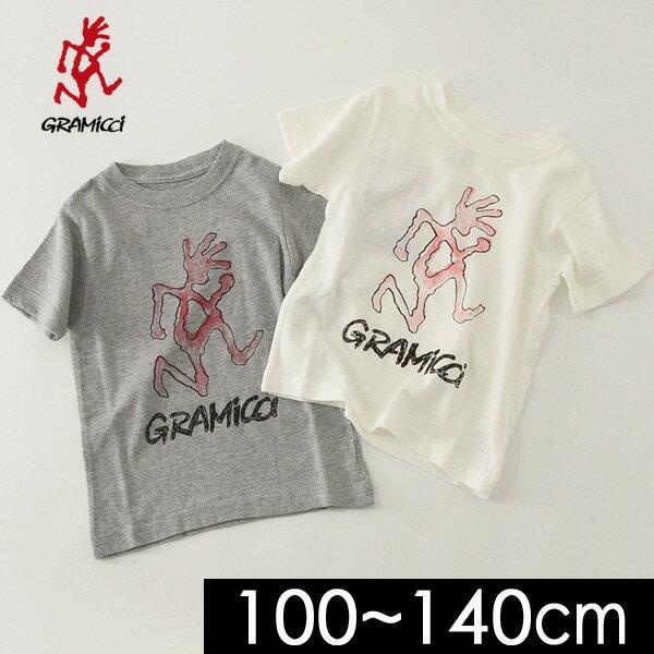 グラミチ KIDS RUNNINGMAN TEE GKT-18S205-14M キッズ ベビー トップス 半袖 Tシャツ プリント アウトドア 子供服 GRAMICCI 4018894