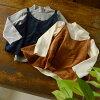有putipa PTP01538-M90-K5 beroakyami的长袖子T恤小孩婴儿顶端长袖子针织朗T女短上衣安排A线女人的子女儿子们童装Petit pas 4019317