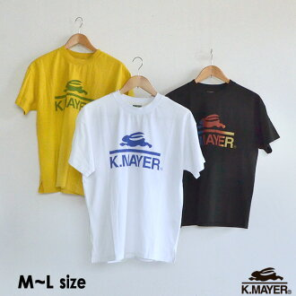 Cliff Meyer 1857223L-LM brand logo TEE Lady's tops T-shirt short sleeves brand logo print Shin pull casual KRIFF MAYER 2002421
