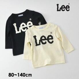【メール便可】リー 9184483-14M ロゴ長袖Tシャツ キッズ ベビー トップス ロンT カットソー シンプル 男の子 女の子 子供服 Lee 4021408