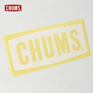 【メール便可】チャムス CH62-1482-Fm カッティングシート チャムスロゴL レディース メンズ チャムスボートロゴステッカー ラージサイズ シロ 白 ホワイト CHUMS 7009446 oso-2s ppd20
