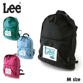 Lee ビッグワッペンLEEリュックサック Mサイズ 8L 9185834-MGキッズ ベビー カバン かばん 鞄 バッグ バック 子供 子ども 通園 入園 遠足 リー 7007265