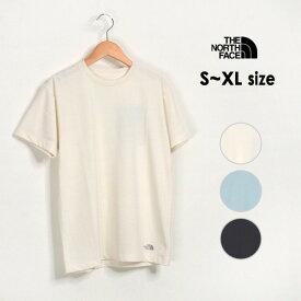 【メール便可】ザノースフェイス NTW32061-XLmm S/S Hem Small Logo Tee/ヘムスモールロゴT レディース トップス 半袖Tシャツ 無地 シンプル THE NORTH FACE 2002567