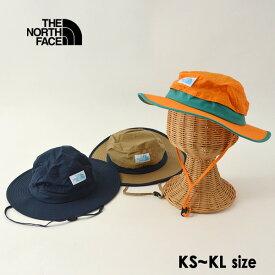 【メール便不可】ノースフェイス NNJ02006-MG Kids Camp Side Hat/キッズキャンプサイドハット キッズ 帽子 ぼうし ボウシ ロゴワッペン あごストラップ付 男の子 女の子 子供 THE NORTH FACE 7009621