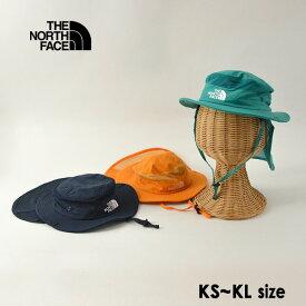 【メール便不可】ノースフェイス NNJ02007-MG Kids Camp Sunshield Hat/キッズキャンプサンシェールドハット キッズ 帽子 ぼうし ボウシ 無地 シンプル あごストラップ付 日よけ 男の子 女の子 子供 THE NORTH FACE 7009622
