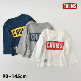 【メール便可】チャムス CH21-1066-mXLm kids Boot Logo L/S Tシャツ キッズ ベビー トップス 長袖 ロンT ロゴT ボートロゴ 長袖Tシャツ 子供服 CHUMS 4022961