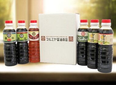 【九州宮崎しょうゆ】マルミヤ醤油本店360ml6本セット