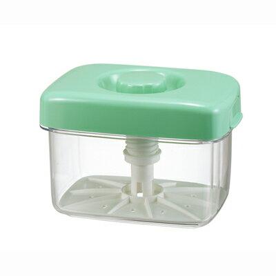 送料無料 TOMBO 新輝合成 トンボ 即席漬物器 マミー 角3型 グリーン