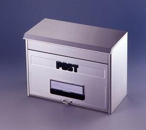 [割引クーポン配布中]【再入荷】 大きな郵便物もすっぽり どでかポスト ステンレス製ポスト 鍵穴付き【RCP】【SGT-3000】【CP】