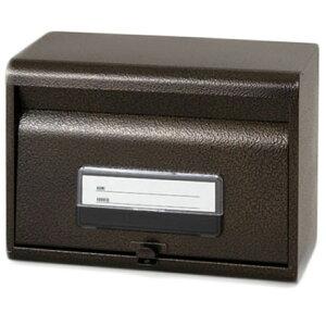 [割引クーポン配布中]【再入荷】 きれいなエンボス加工の郵便ポスト 鍵穴付き(エンボスブラウン)【RCP】【SGE-80】【CP】