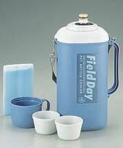 ペットボトルクーラー <保冷材付> 2.0リットル パープル パール金属 【RCP】【M-8904】