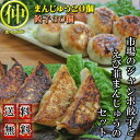 【送料無料】市場のジャンボ餃子とえび韮まんじゅうのセット(沖縄・離島の場合は別途送料がかかります)